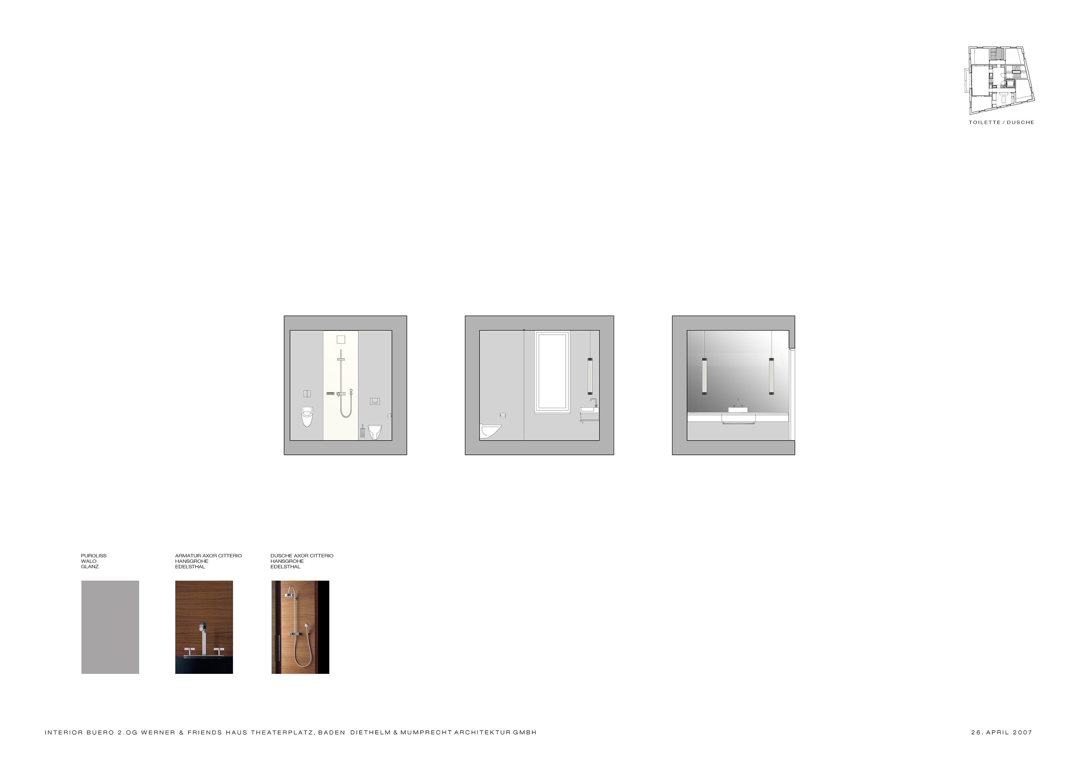 Interieur Büro, Haus Theaterplatz   Diethelm & Mumprecht
